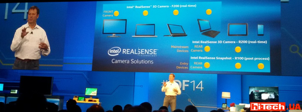 Intel Real Sense idf 2014