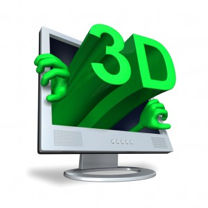 3D monitor