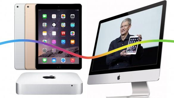 iPad Air 2 iPad mini 3 Mac mini и iMac с Retina 0 vezd