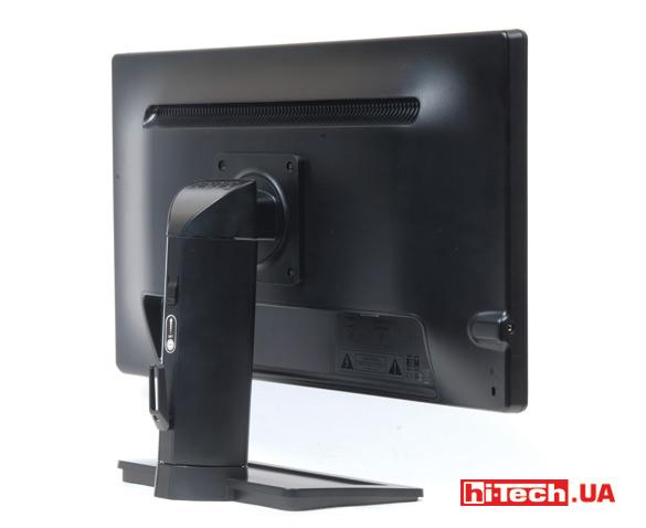 Игровой монитор BenQ XL2411Z. Задняя сторона
