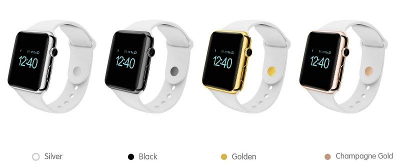 Китайская фирма Aiwatch представила копию носимого гаджета Apple ... 2af3bb89b7283