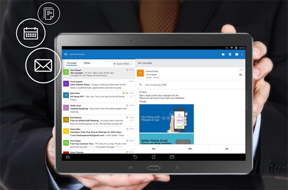 Outlook на Android