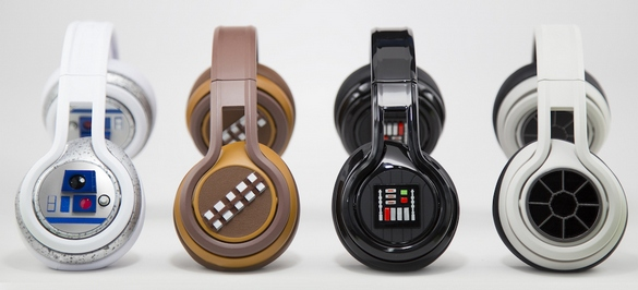 SMS Audio Star Wars CES 2015