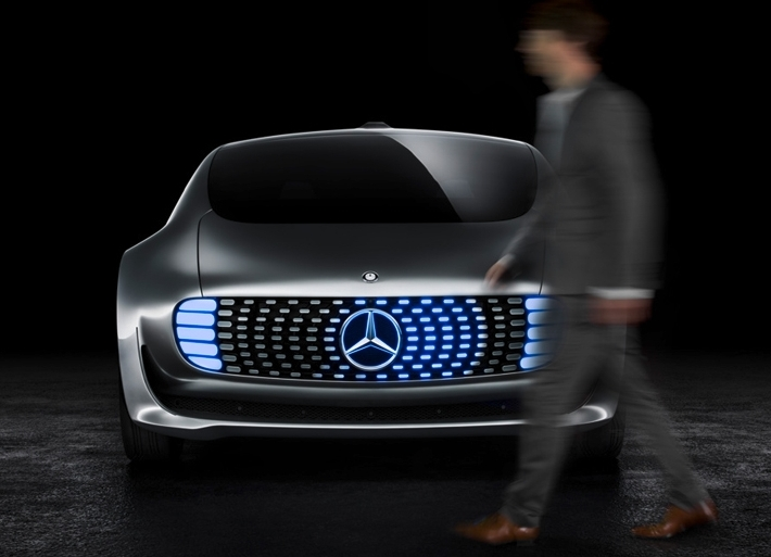 Mercedes Benz at CES 2015