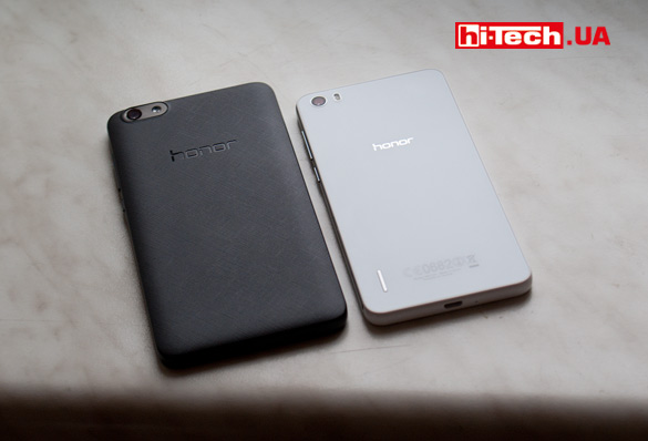 Honor 6 и Honor 3C Lite