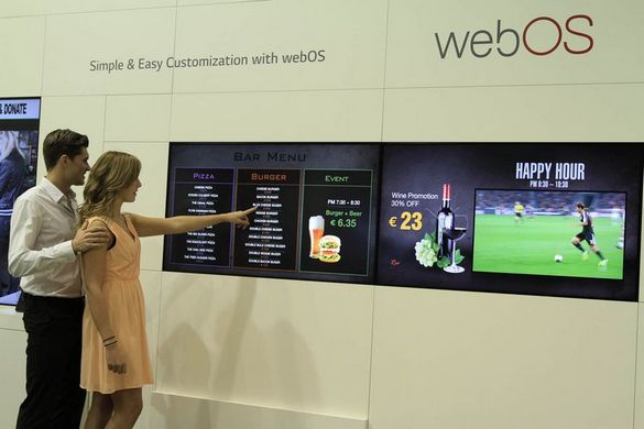 LG Smart Platform Signage with webOS 01_ISE 2015-small
