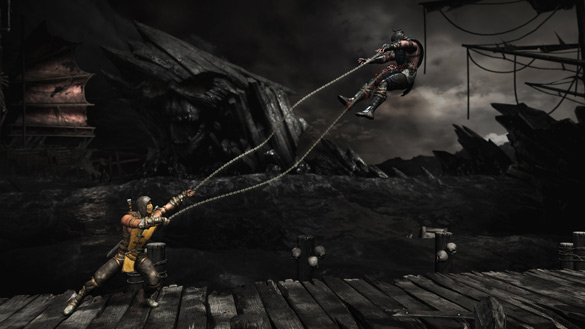 Mortal Kombat X screen