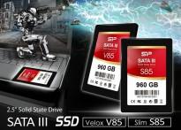 Silicon Power  Slim S85 и Velox V85