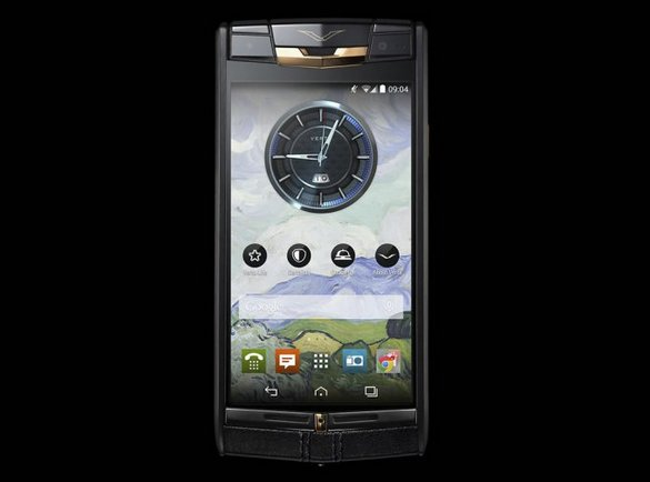 Vertu SignatureTouch Jet Red Gold 1