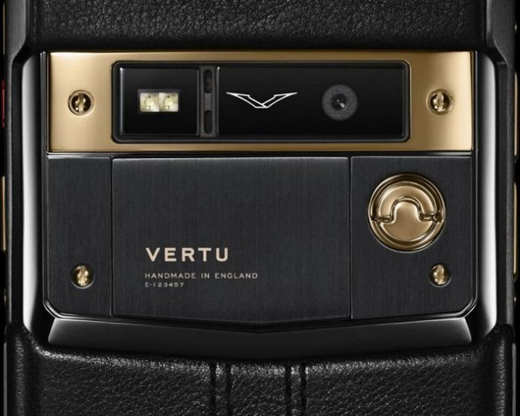 Vertu SignatureTouch Jet Red Gold 3