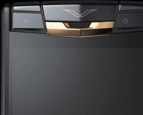 Vertu SignatureTouch Jet Red Gold 4