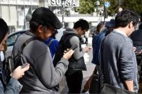 smartphone pedestrinas