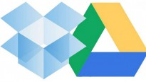 onedrive dropbox logos