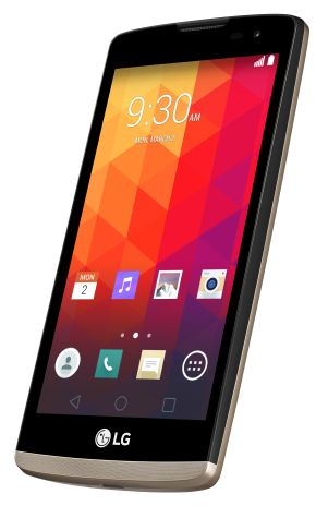 LG Leon (LTE)_Gold-front_s