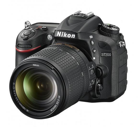 Зеркальная фотокамера Nikon D7200