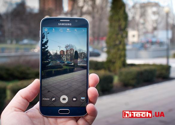 Съемка Samsung Galaxy S6