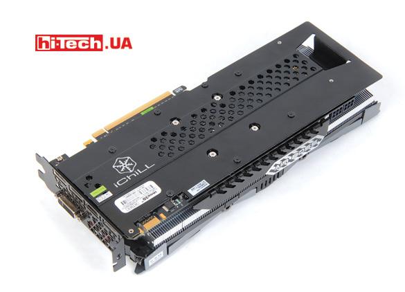 Задняя планка Inno3D iChill GTX 960 2GB Ultra