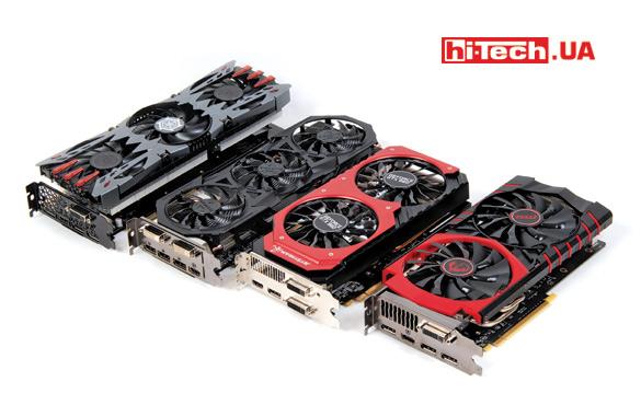 Видеокарты Gigabyte GV-N960G1 GAMING-2GD, Inno3D iChill GTX 960 2GB Ultra, MSI GTX 960 GAMING 2G, Palit GeForce GTX 960 Super JetStream
