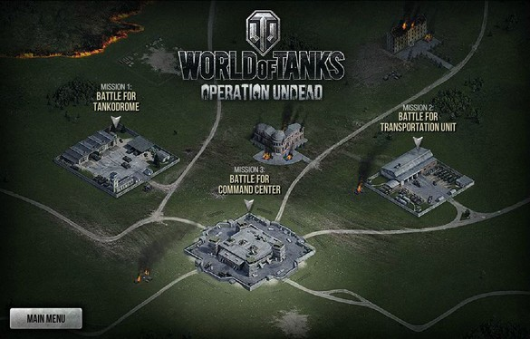 World of Tanks Operation Undead 1