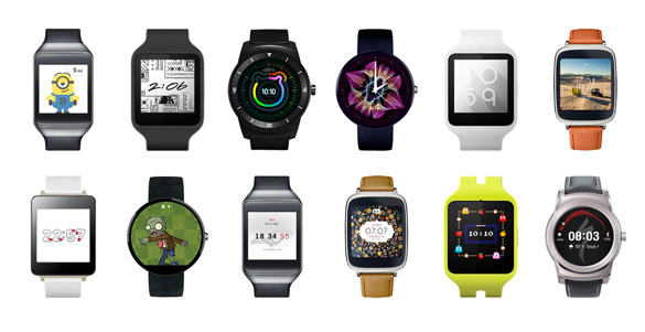 Часы Android Wear
