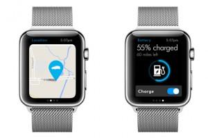 Car-Net app for Apple Watch