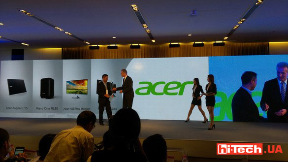 Computex 2015 International press conference Acer 10