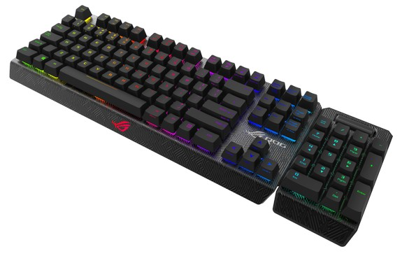 ROG Claymore RGB mechanical gaming keyboard