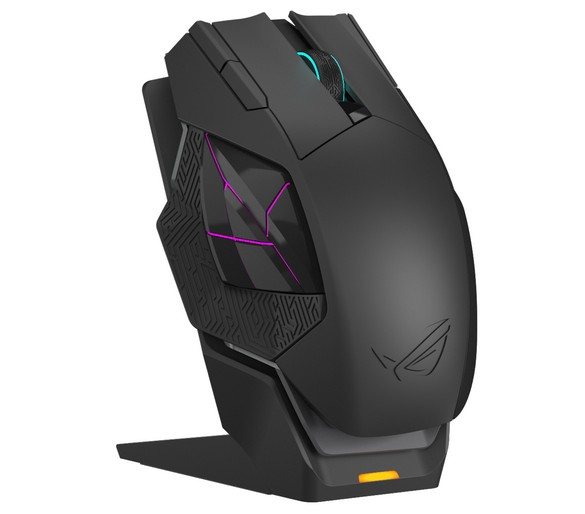 ROG Spatha wired_wireless gaming mouse