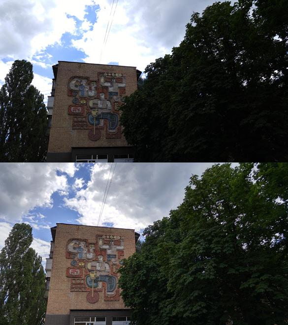 LG G4 HDR-снимки