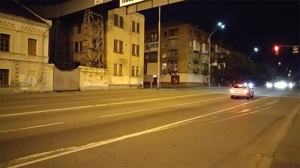 LG G4 ночная видеосъемка
