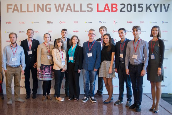 Falling Walls Lab Kyiv 2015-2