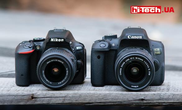 Камеры Сanon EOS 750D и Nikon D5500. Сравнение