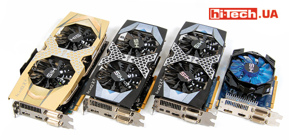 Видеокарты HIS R9 390 IceQ X² OC 8GB, HIS R9 380 IceQ X² OC 2GB, HIS R7 370 IceQ X² OC 2GB, HIS R7 360 iCooler OC 2GB