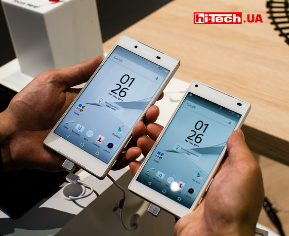 Sony Xperia Z5 и Z5 Compact