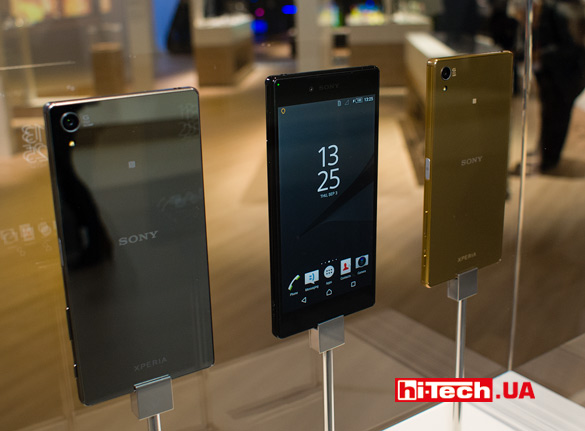 Sony Xperia Z5 Premium — первый смартфон с 4К-разрешением экрана