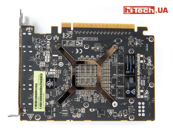 Плата AMD Radeon R9 Nano
