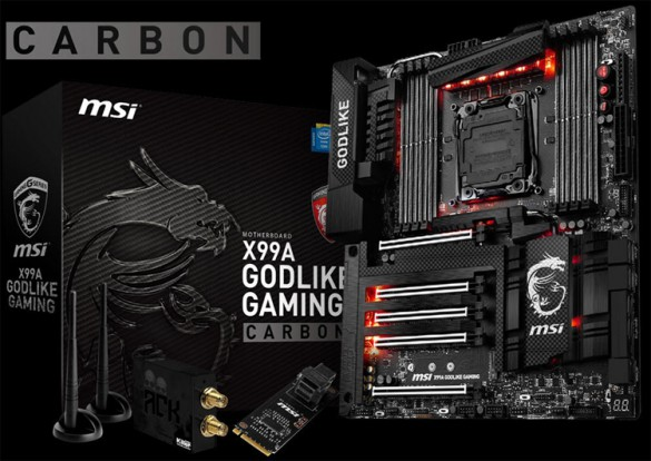 MSI X99A GODLIKE Gaming Carbon Edition