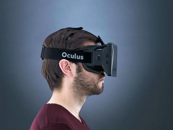 Oculus Rift во время использования