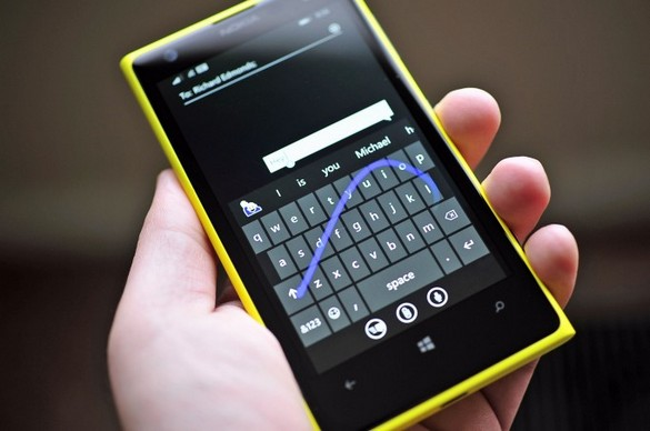 Windows Phone-keyb