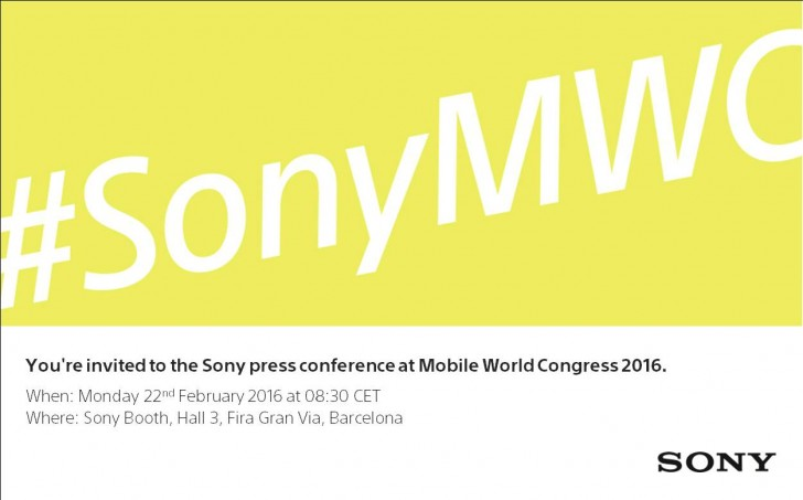 sony at mwc 2016