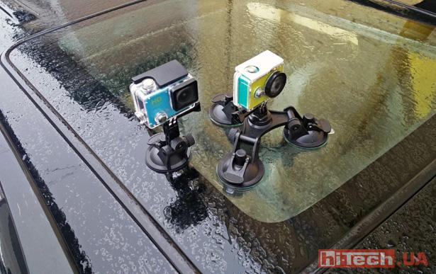 AirOn ProCAM vs Xiaomi Yi 2