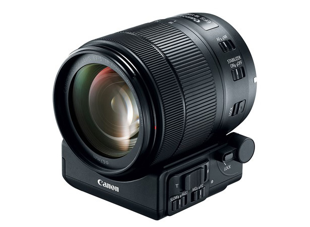 Объектив Canon EF-S 18-135mm f/3.5-5.6 IS USM с адаптером