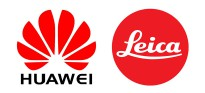 Логотипы Huawei и Leica