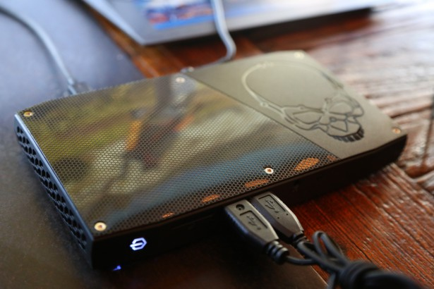 Intel Corp.'s new Skull Canyon NUC is displayed at the Game Developers Conference on March 16, 2016. The much-anticipated Intel NUC features a 6thGeneration Intel Core i7 processor, Intel Iris Pro graphics and Thunderbolt 3.The 2016 Game Developers Conference, the largest professionals-only gaming industry event, runs from March 14-18 in San Francisco. <a href=