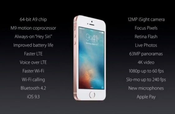 Apple iPhone SE 21-03-2016 05