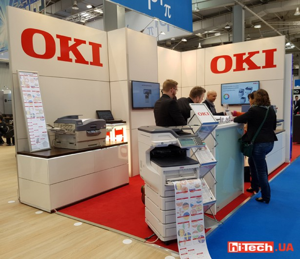 OKI at CeBIT 2016 01