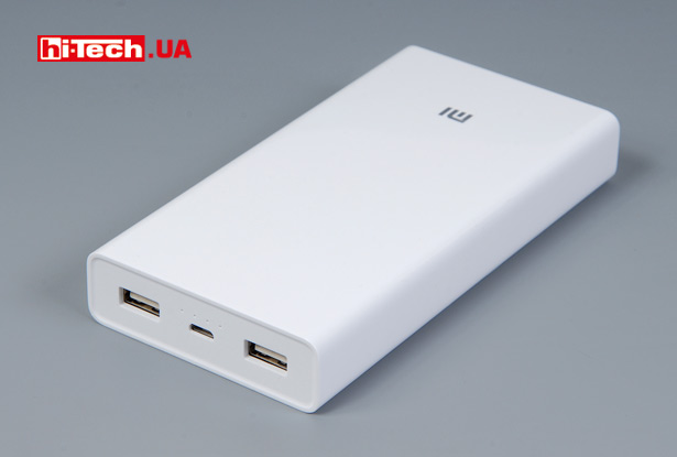 Внешний аккумулятор Xiaomi Mi Power Bank 20000mAh