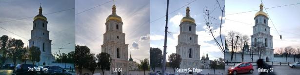 Сравнение фотографий с одного ракурса. Просим учесть немного разные условия съёмки