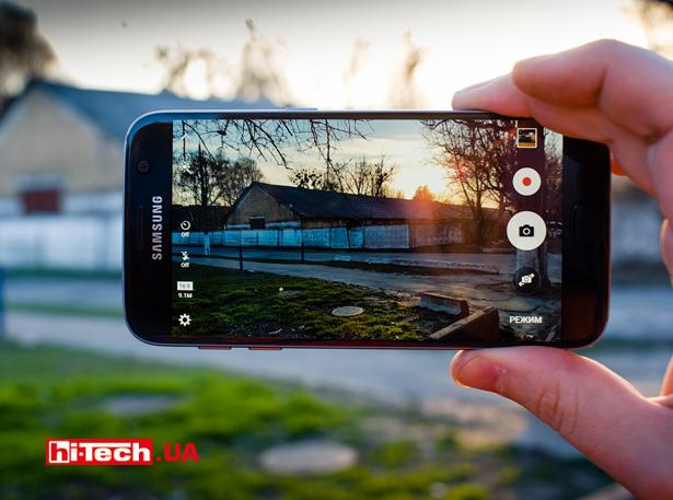 Снимаем на Камера Samsung Galaxy S7
