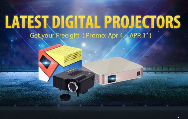 dlp projectros at gearbest 6-04-16